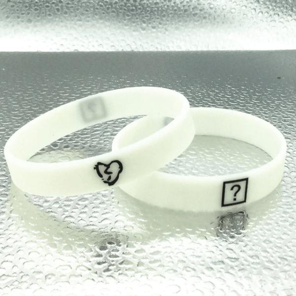xxxtentacion store ? white wristband
