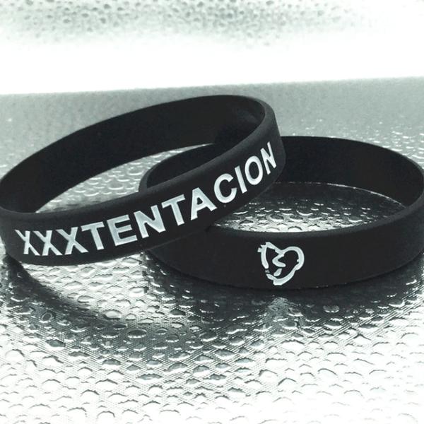 xxxtentacion RIP black wristband