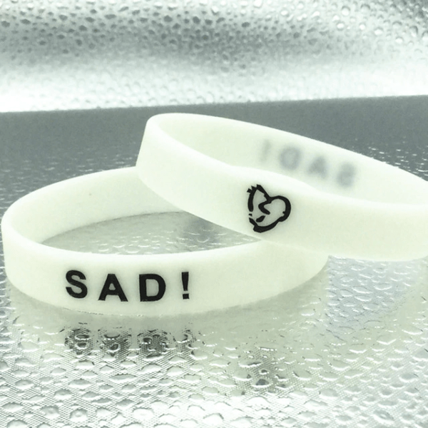 xxxtentacion sad! white wristband