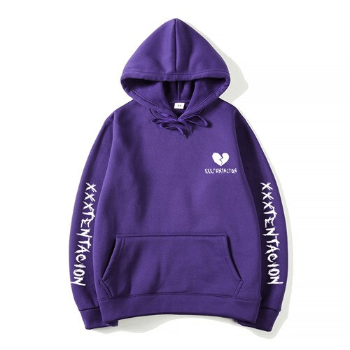 revenge broken heart hoodie