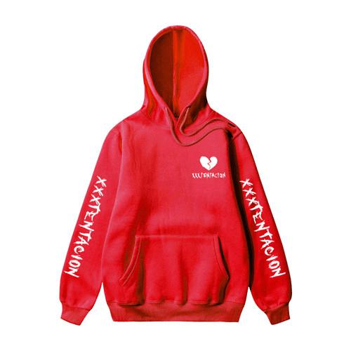 xxxtentacion broken heart hoodie