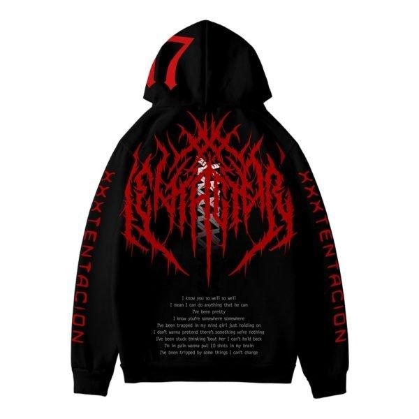 xxxtentacion 17 rapper hoodie b