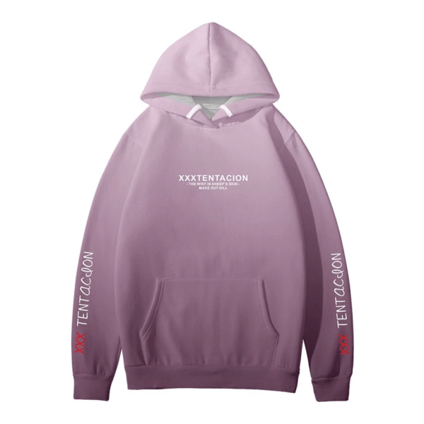 Jahseh Onfroy Rip xxxtentacion hoodie back side