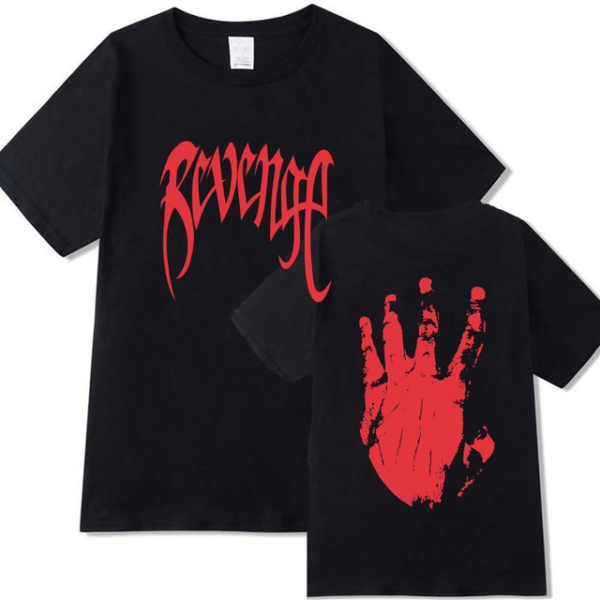xxxtentacion revenge kill t shirt clothing