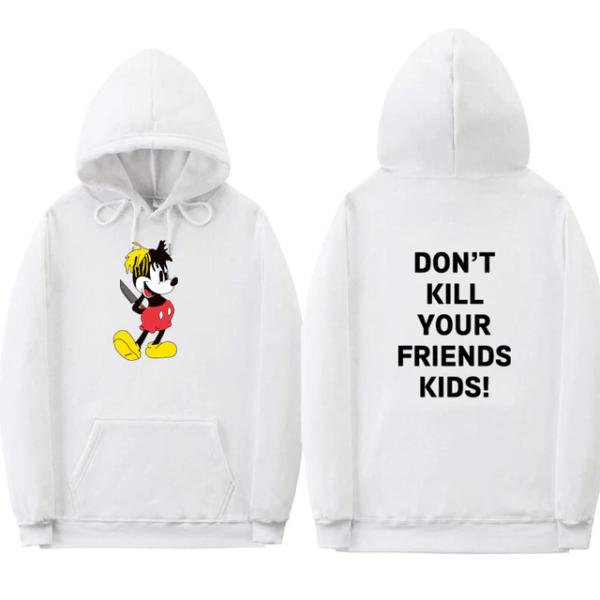 xxxtentacion don't kill your friend's kids hoodie