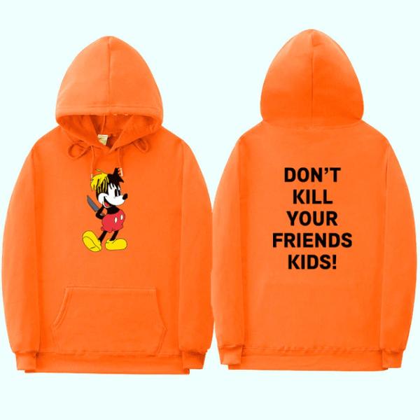 xxxtentacion don't kill your friend's kids fashion hoodie