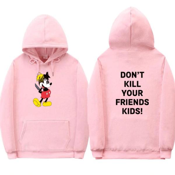 don't kill your friend's kids fashion hoodie