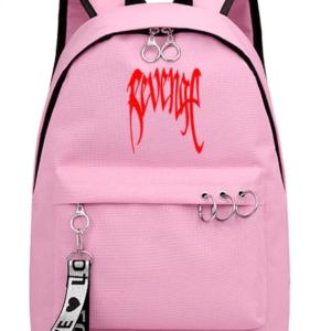 Xxxtentacion Apparel Revenge Logo Pink Backpack