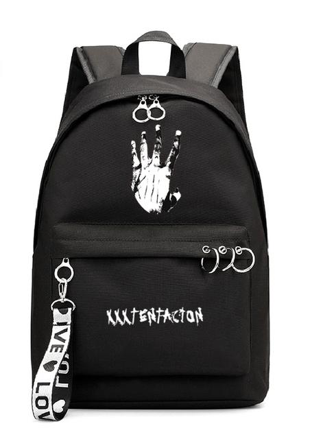Xxxtentacion Bad Vibes Logo Clothing Backpack