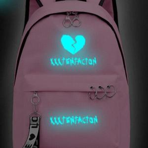 xxxtentacion apparel Illuminated broken heart backpack
