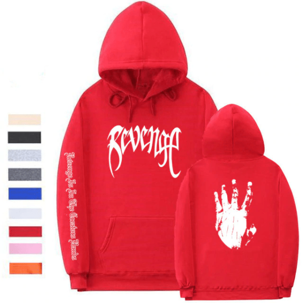 xxxtentacion clothing revenge hoodie