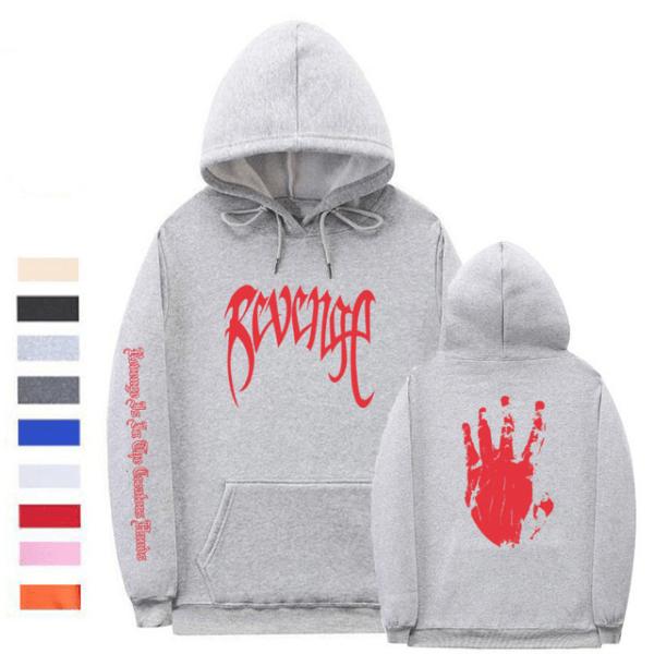 xxxtentacion revenge logo hoodie