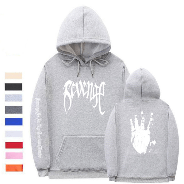 xxxtentacion clothing revenge fashion hoodie