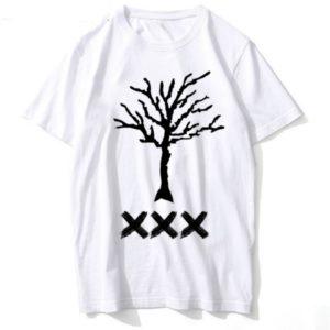 xxxtentacion logo apparel dreadlocks tee