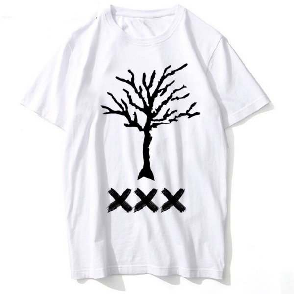 xxxtentacion logo apparel dreadlocks tee