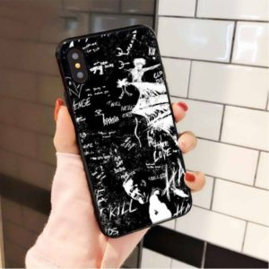 Xxxtentacion Revenge Store Black n White Iphone case