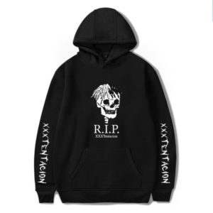 triple x tentacion rip hoodie