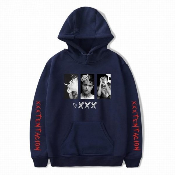 xxxtentacion apparel graphic hoodie